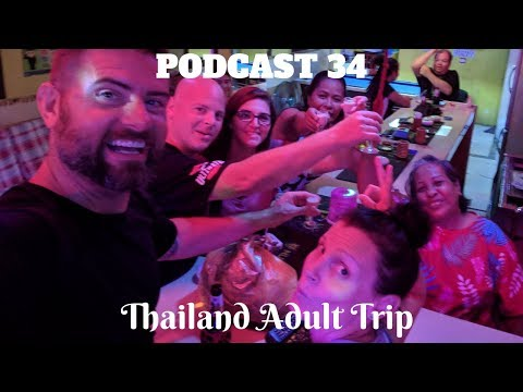 Podcast 34: Thailand Grownup Poke (Bars, Evening Markets, and an Island)
