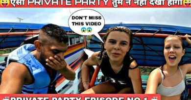 🤪 CRAZY YOUNG RUSSIAN GIRL IN PRIVATE PARTY 😜 Indian in Thailand _ Pattaya City _ Coral Island 2021