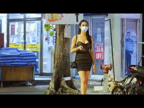 Day to Night Scenes in Pattaya Thailand – August 2021