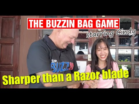 Pattaya City – Buzzin Sport No 5. Cindy from Maggie Could possibly perhaps additionally's joins us for a fun game of touchy feely!