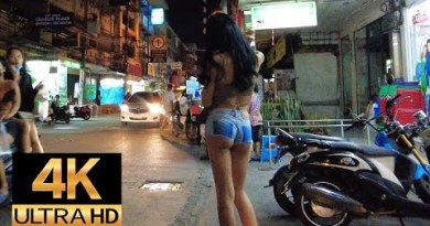 Pattaya 4K Inch Lochdown Situation. Eary Night Inch 17th Aug.