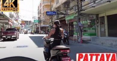 [4K] Pattaya Hunch, Soi 6, Sea rush Twin carriageway, Soi Buakhao, Walking Twin carriageway, Naklua