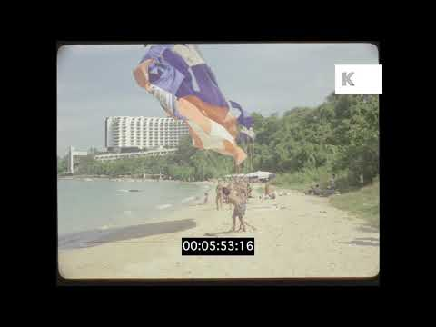 Seventies, 1980s Pattaya, Thailand Resort in HD from 35mm