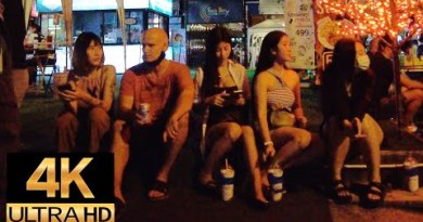 Pattaya 4K Stroll Lochdown Express. Night Stroll 18th Aug.