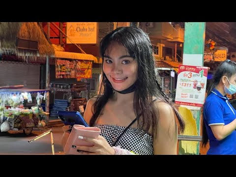 Pattaya Seaside Facet road, Night time Markets & Jomtien Perfect Girls: High Places for Singles THAILAND 2021 Vlog#14