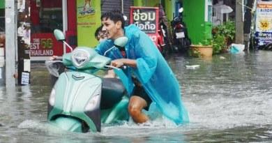 Pattaya Expansive Flood, Soi Buakhao. Thailand, 2021