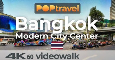 Walking in BANGKOK / Thailand 🇹🇭- New Metropolis Heart Tour (2019) – 4K 60fps (UHD)