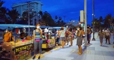 Evening Drag at Pattaya Jomtien Seaside – 03 September 2021 Thailand 4K