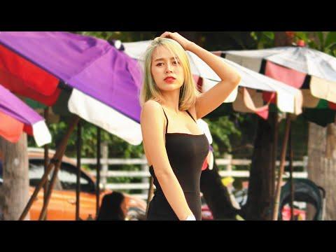 Pattaya Avenue Scenes. Thailand, September, 2021