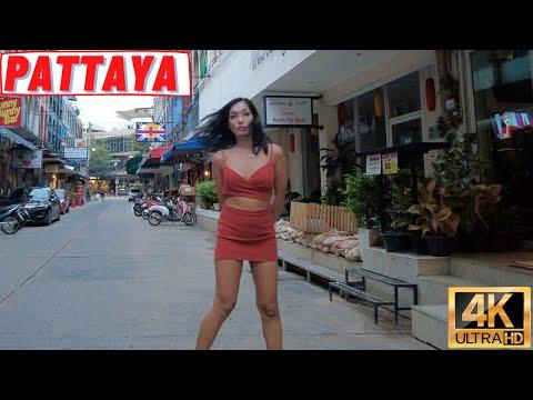 [4K] Pattaya Inch, Strolling Avenue, Seaside Boulevard, Soi 13/1, Soi Buakhao
