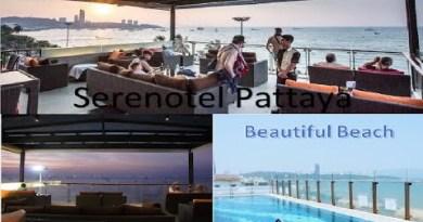 Serenotel Pattaya Seashore Front. My working Position.
