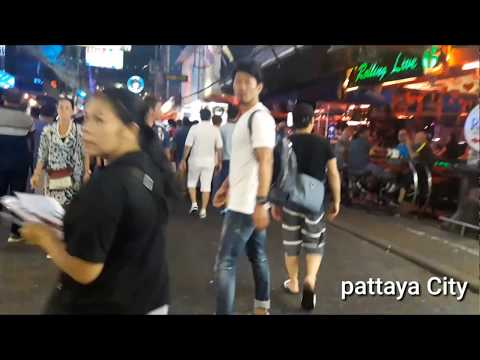 Pattaya strolling road after center of the night 01 Might maybe 2018