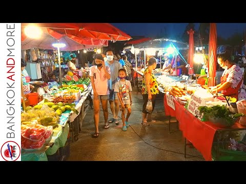 Day to day Local Market In BANGKOK Thailand