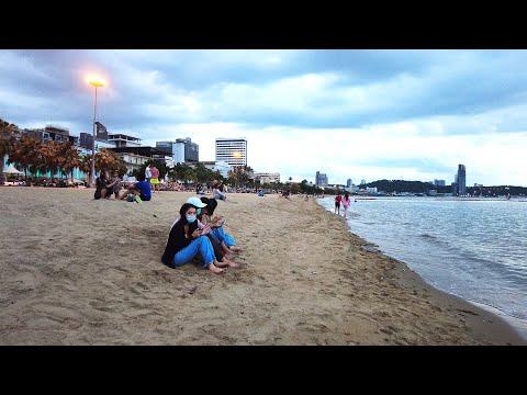 Pattaya Fade in Seashore Avenue, Thailand, September, 2021l Thailand Night time Membership