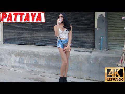 [4K] Pattaya Plod, Soi Diana, Coastline Avenue, Soi Buakhao, Soi Chalermphrakiat