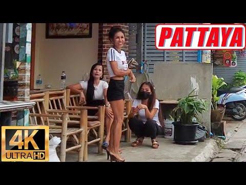 [4K] Pattaya Stroll, Soi Diana, Royale Backyard, Seaside Boulevard, Soi Buakhao, Pattaya Tai