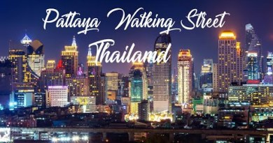 Pattaya Walking Boulevard – Thailand Nightlife –