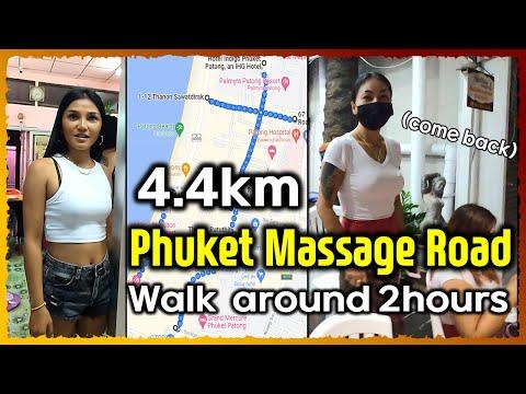 Phuket Thailand Rubdown avenue plan 01 Patong beach walking boulevard (2021)