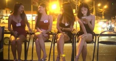[4k] Pattaya and Bangkok Thailand Evening Avenue Scenes 2021