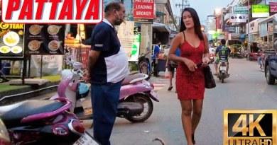 [4K] Pattaya Stroll, LK Metro, Soi Diana, Seaside Aspect road, Soi Buakhao, Soi Lengkee