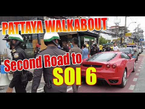 Pattaya City, what's taking place here appropriate now around 2nd Rd, down to Seaside Avenue alongside to Soi 6