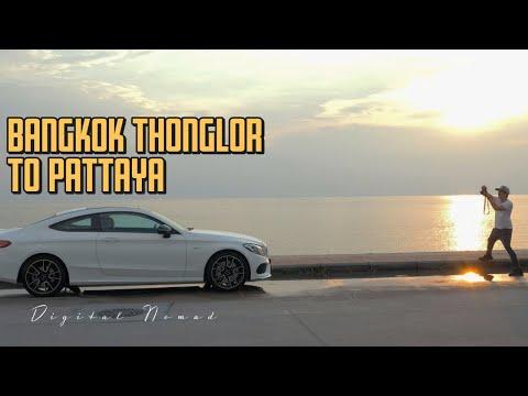 Bangkok Thailand -Coworking Most advantageous burger Thonglor & Mercedes shoot in Pattaya 🍔