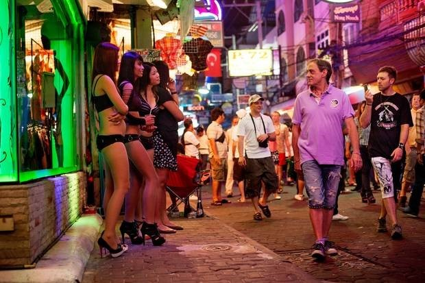 Pattaya city: Tourists have a reputation for wild, booze-fuelled nights out in places like Pattaya red light district. Photo / Jonas Gratzer, Getty Images