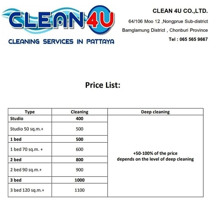 Clean 4u-Pattaya