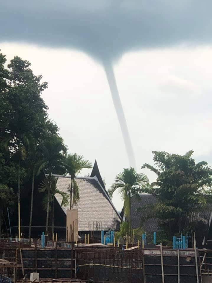 Two waterspouts spotted in Krabi