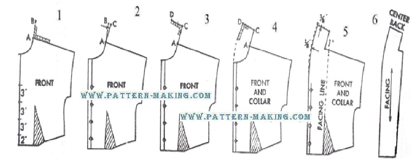 Drafting Shawl Collar