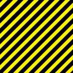 黒と黄色の斜線