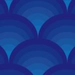 日本的な波をイメージしたパターン