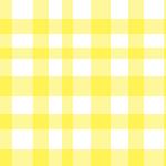 ランダムな間隔で重なる黄色のギンガムチェック