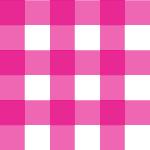 ピンク色のギンガムチェック柄パターン