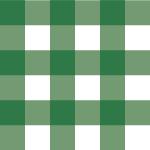 緑色のギンガムチェックパターン