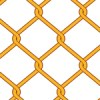 工事現場のオレンジのフェンスのようなパターン