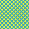 黄色と青のドットパターン