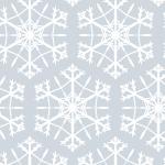 六角形の雪の結晶イラストパターン