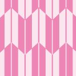 ピンク色の女性的な矢絣柄パターン