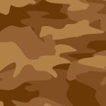 茶色基調のカモフラージュ・迷彩柄パターン