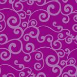 紫ベースの唐草風パターン