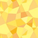 黄色基調のジオメトリックパターン