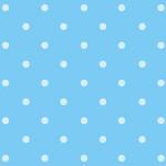 シンプルな水色のドット柄パターン