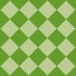 緑色のハーリキンチェック柄パターン