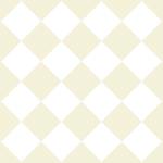 白基調のハーリキンチェック柄パターン