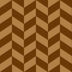 茶色のヘリンボーン柄パターン