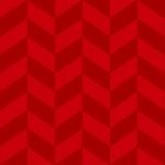 濃淡のある赤色のヘリンボーン柄パターン
