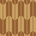 茶色の矢絣柄パターン