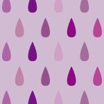 紫色のレインドロップ柄パターン