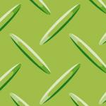 緑色の縞鋼板・チェッカープレートのパターン